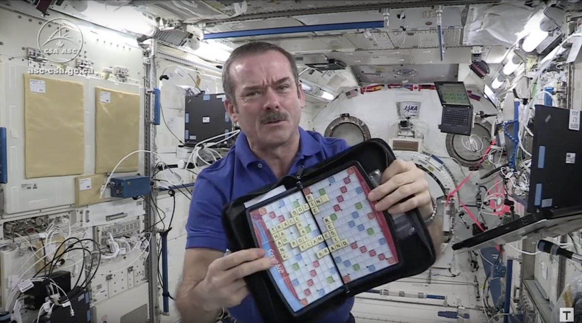 Zero-Gravity Games: How Astronauts Play in Space by Leanne